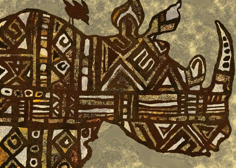 w rhino AFRO profile
