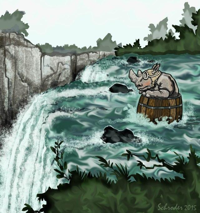 o'er the Falls